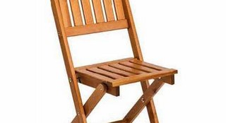 Складной стул Cecilia, цвет медовый.Мебель Cecilia в интерьере.